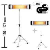 Infrared Radiant Heater IR 2570 S including IR Telescopic Tripod