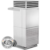Room air purifier TAC V+ stainless steel