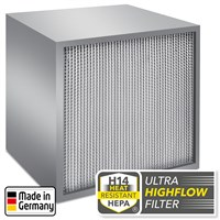 H14 HEPA Ultra High Flow-filter för TES 200 och TAC V +