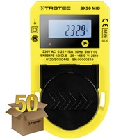 Energy consumption measuring device BX50 MID, Pack of 50