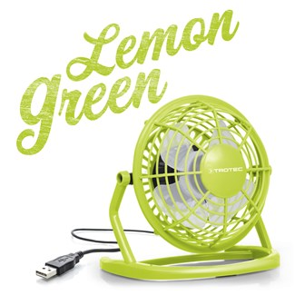 USB Fan Light Green TVE 1L