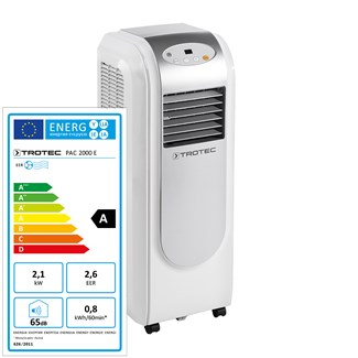 PAC 2000 E Local Air Conditioner with UK Plug